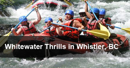 Whistler Whitewater Rafting